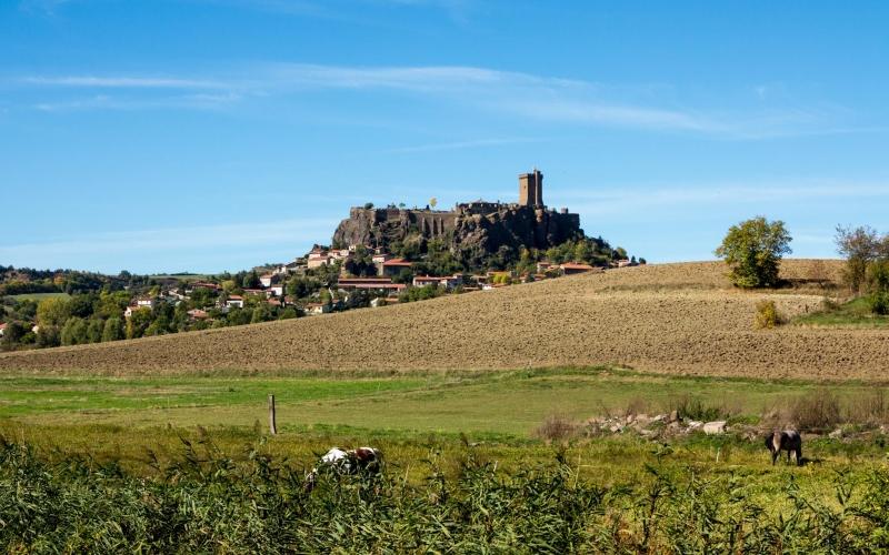Burg von Polignac (Sonnenseite)