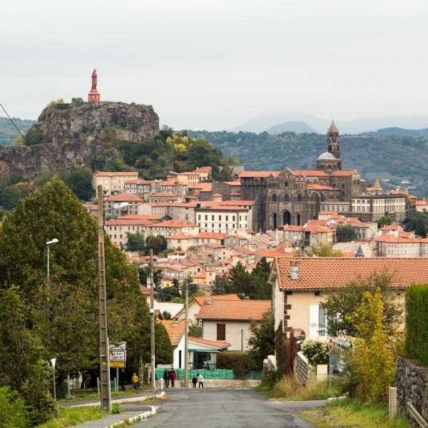 Ein letzter Blick auf Le-Puy