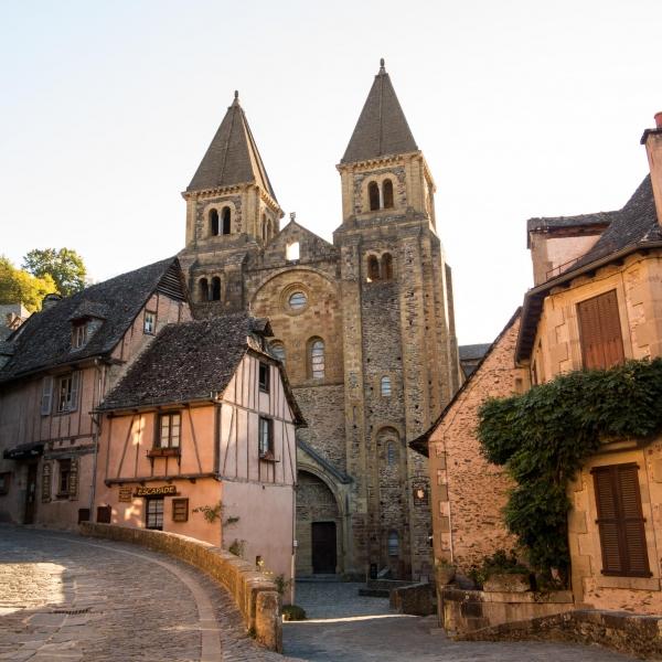 Abschied von der Kathedrale der heiligen Fides in Conques