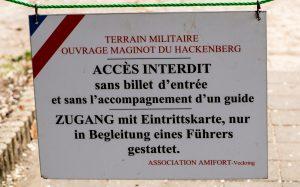 Jakobsweg Hackenberg Besucherschild