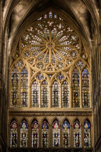 Jakobsweg Metz Kathedrale Rosette
