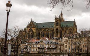 Jakobsweg Metz Kathedrale Totale