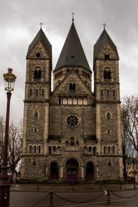 Jakobsweg Metz Temple Neuf Fassade