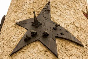 Jakobsweg Schengen Denkmal Frankreich