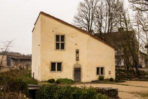 Jakobsweg Domremy La Pucelle Geburtshaus Jeanne d'Arc