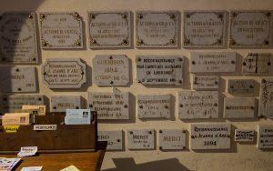 Jakobsweg Domremy La Pucelle Kirche Opfertafeln