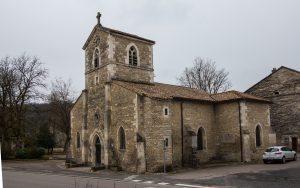 Jakobsweg Domremy La Pucelle Kirche totale