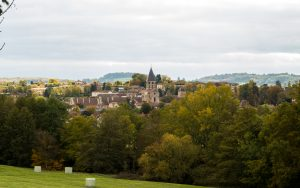Jakobsweg Cluny Panorama