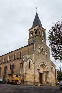 Jakobsweg Cormatin Kirche