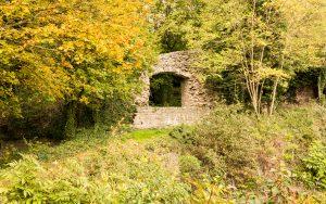 Jakobsweg Ruine Ancien Chateau de Montaigu