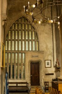 Jakobsweg Saint Gengoux le National Kirche Tür Sakristei
