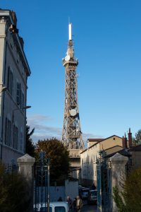 Jakobsweg Lyon Eiffelturm Spitze