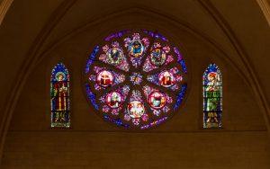 Jakobsweg Lyon Kathedrale Saint Jean Baptiste Rosette