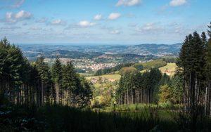 Jakobsweg Nähe Le Charme Panorama