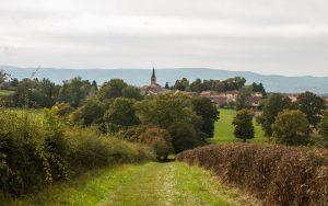 Jakobsweg Noailly Panorama