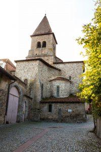 Jakobsweg Pommiers Kirche totale