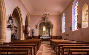 Jakobsweg Saint Maurice Kirche Innenraum