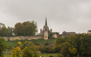 Jakobsweg Grancey le Chateau Kirche Detail