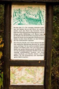 Jakobsweg Hunsrück Beschreibung Römerstraße