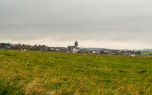 Jakobsweg Hunsrück: Blick auf Haag