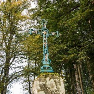 Jakobsweg Kreuz bei Serqeux