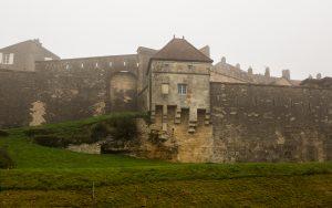 Jakobsweg Langres Stadtmauer