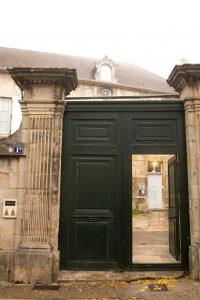 Jakobsweg Langres Tor Presbytere
