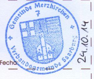 Jakobsweg Merzkirchen Pilgerstempel
