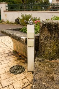 Jakobsweg Poiseul les Saulx Wasser und Strom