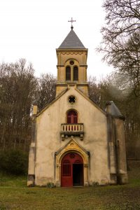 Jakobsweg Rabas Kapelle von außen