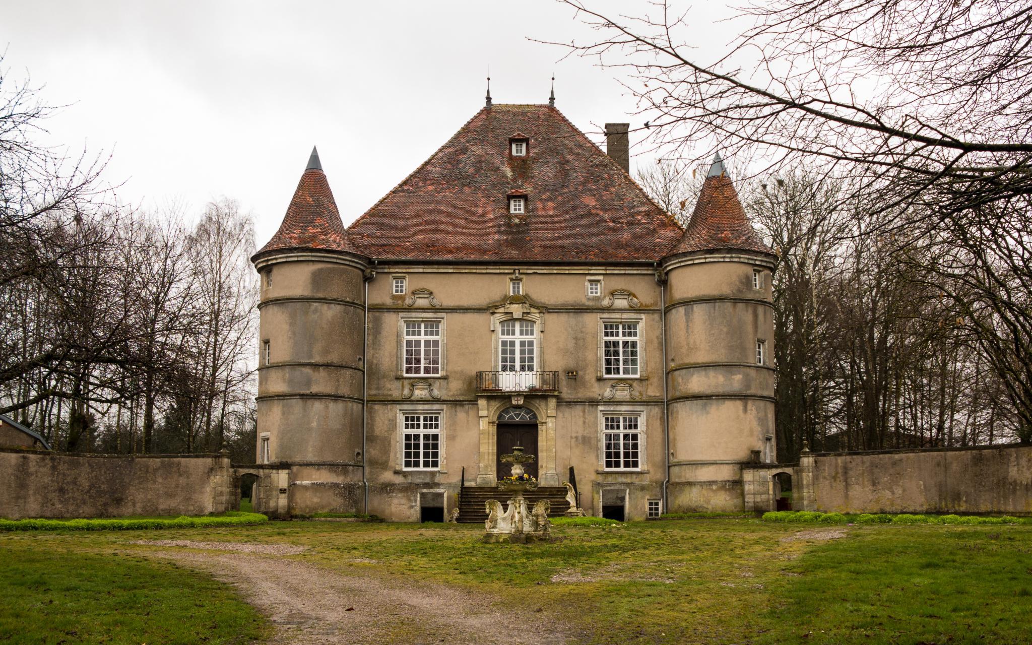 Jakobsweg Sandaucourt Schloß