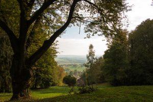 Jakobsweg Serqeux Panorama
