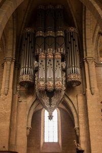 Jakobsweg Trier Dom Orgel