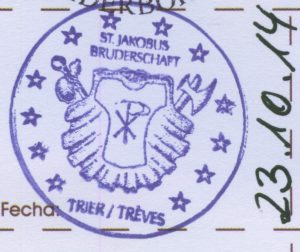 Jakobsweg Trier Pilgerstempel