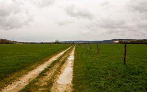 Jakobsweg Vaucouleurs Maas-Landschaft