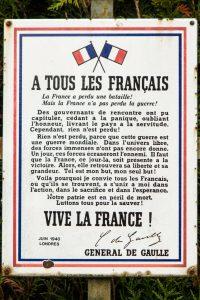 Jakobsweg Ahuy Gedenktafel A tous les Francais