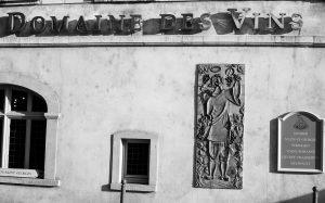 Jakobsweg Beaune Fassade Weinkontor