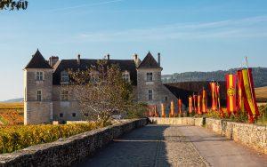 Jakobsweg Chateau du Clos de Vougeot