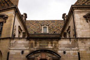 Jakobsweg Dijon Detail Dach