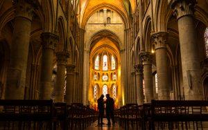Jakobsweg Dijon Kirchenschiff Notre Dame