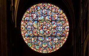 Jakobsweg Dijon Notre Dame Rosette