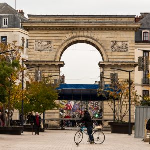 Jakobsweg Dijon Triumphbogen