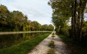 Jakobsweg Remigny Kanal