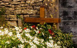 Jakobsweg Taize Grab von Frere Roger