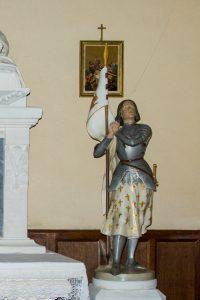 Jakobsweg Saint Jean Kirche Jeanne d'Arc