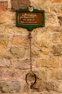Bonifatius-Route Blankenau Pranger