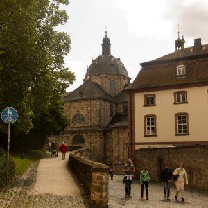 Bonifatius-Route Fulda Zugangsweg zum Dom