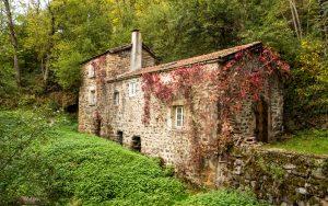 Jakobsweg Alte Mühle vor Saint Privat d'Allier