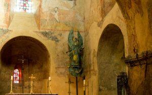 Jakobsweg Le Puy-en-Velay Kirche Saint Michel Detail Altar
