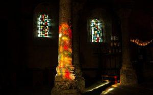 Jakobsweg Le Puy-en-Velay Kirche Saint Michel Licht und Schatten